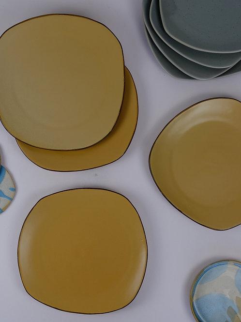 Organic Polygon Platter