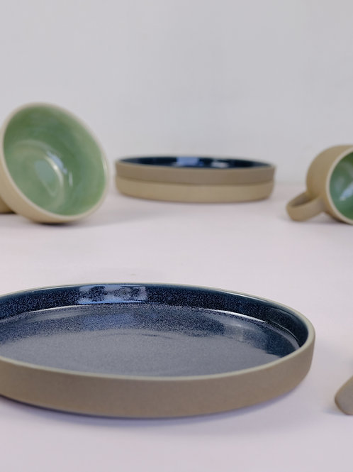 Shoonya Breakfast Plate - Blue