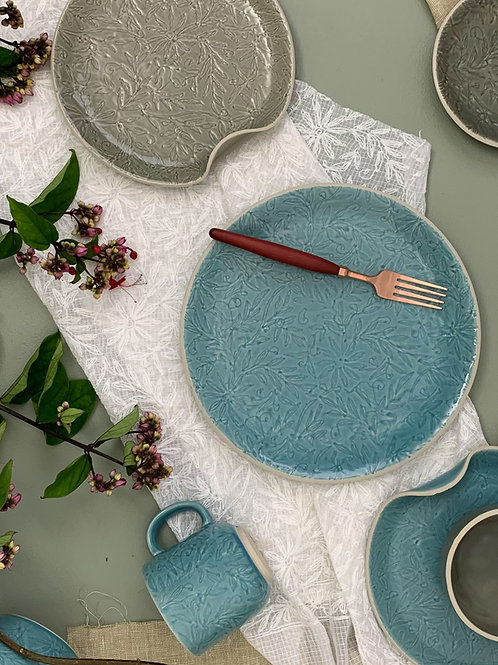Vastra Breakfast Plate Blue