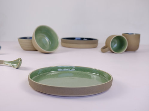 Shoonyă Breakfast Plate - Green