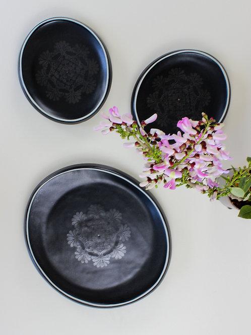 Mandala Oval Platter - Large