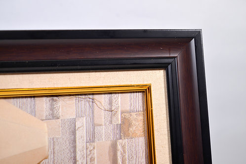 Photo Frame 12R Brown