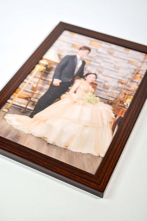 Photo Frame 8R Brown