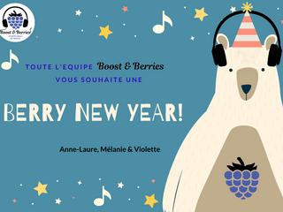 Boost&Berries vous souhaite une très belle année !