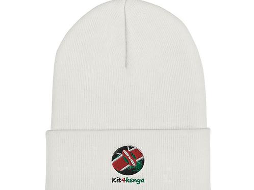Kit4kenya Beanie (White)