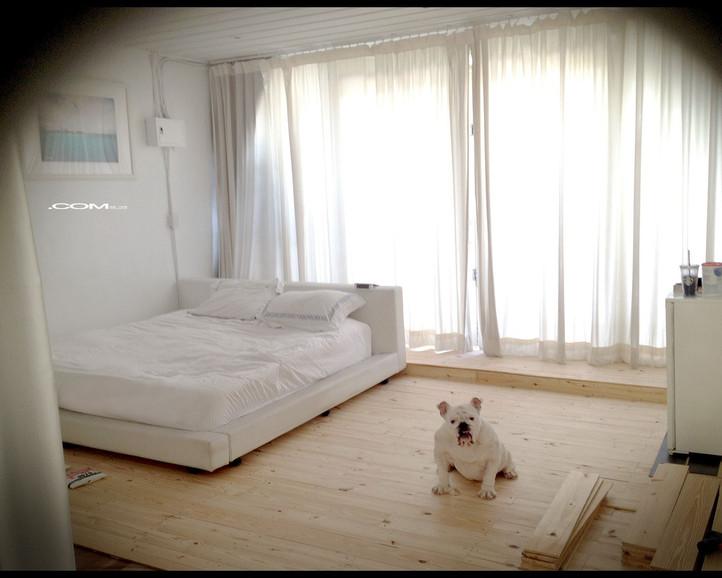 .COM Life | DIY木地板 達成!