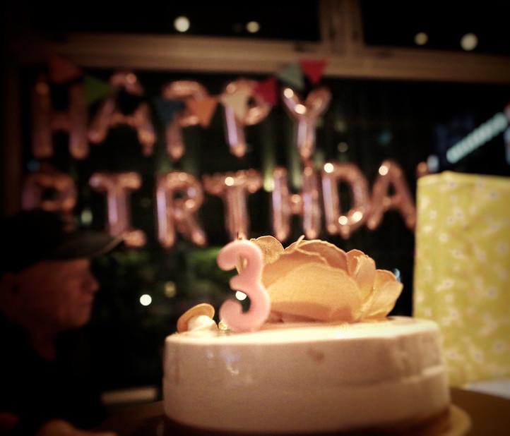 .COM Life | 3歲生日快樂,AnnieBaby! 但我想感謝你的爸爸叔康