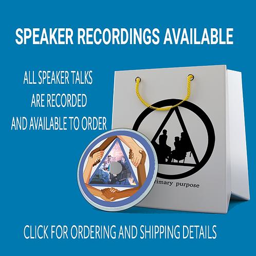 Speaker Recordings