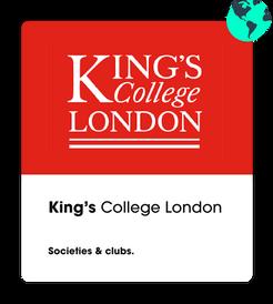 Kings College Societies