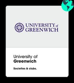 university of greenwich societies