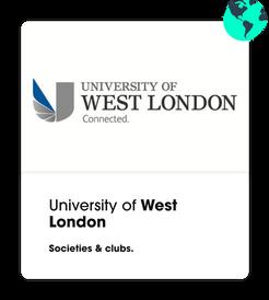 university of west london societies
