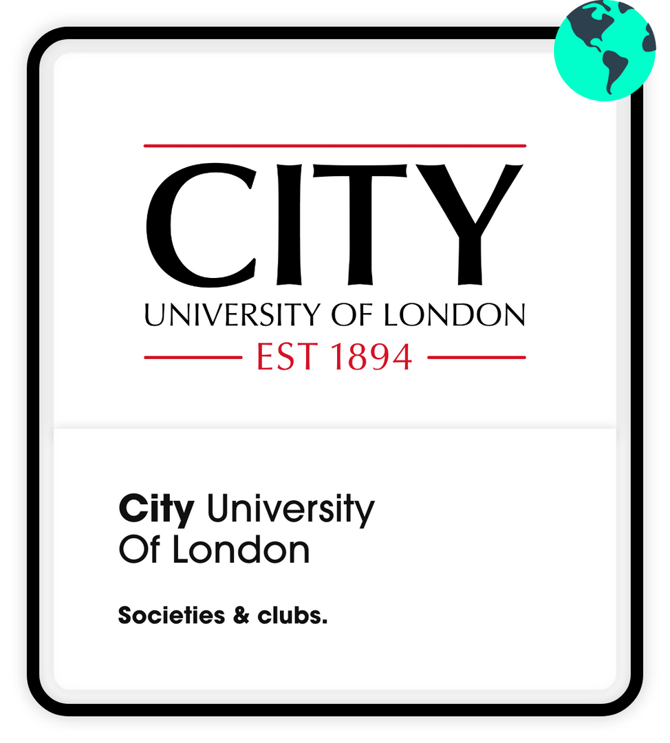 City university Societies