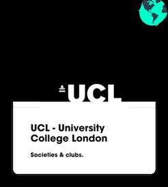 ucl societies