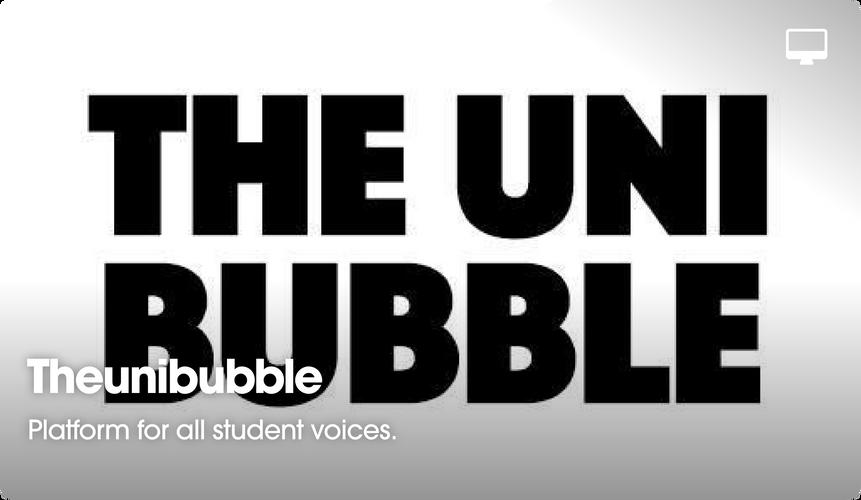 TheUniBubble