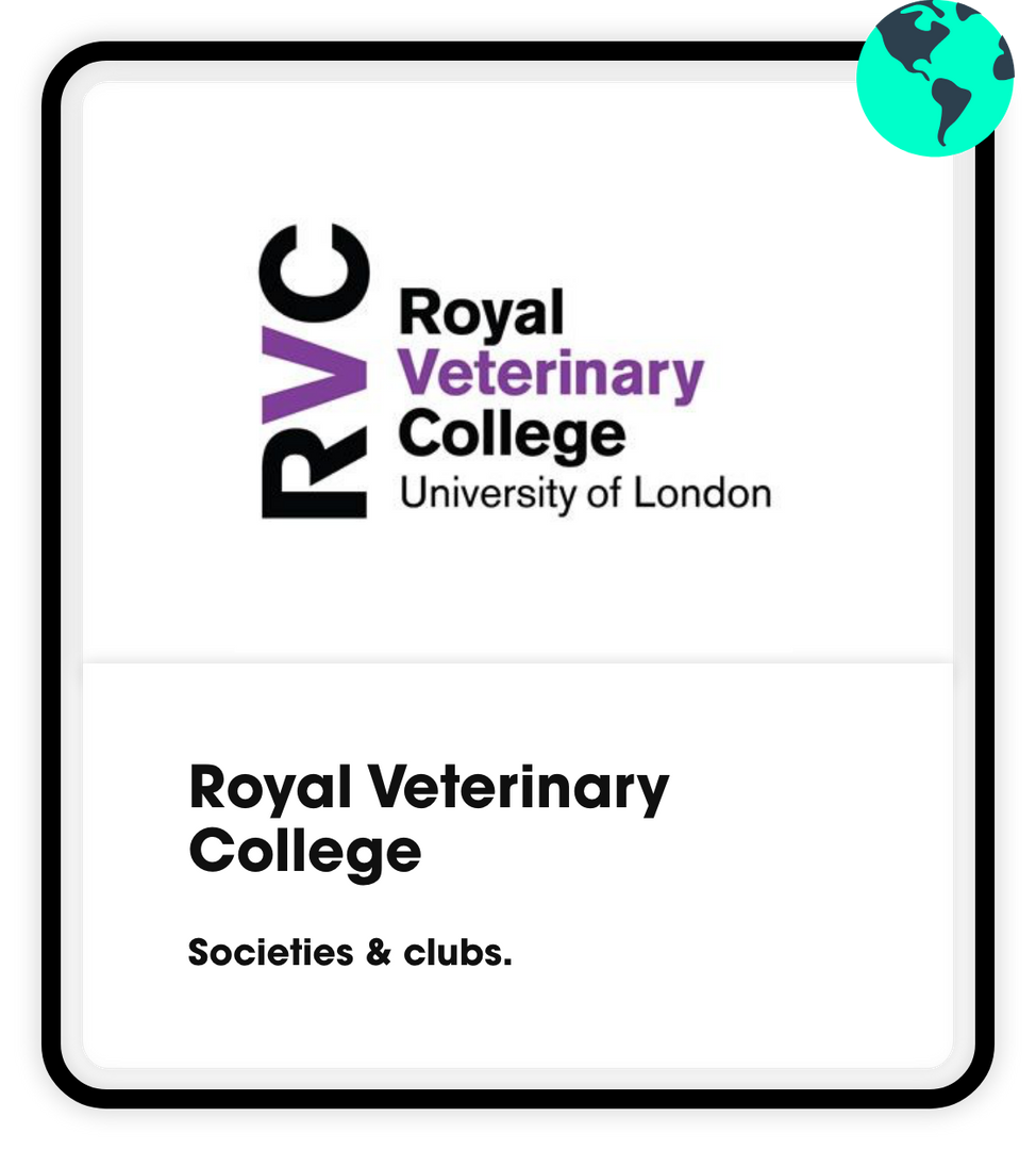 Royal Veterinary College societies