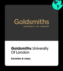 goldsmiths societies