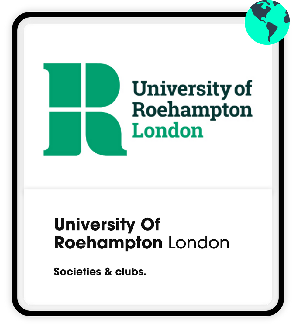 University of Roehampton societies