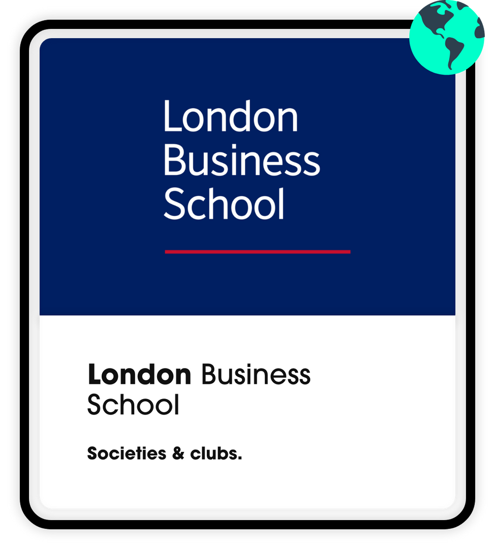 London Business School Societies