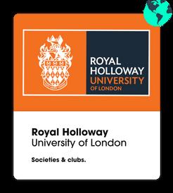 ROyal holloway university societies