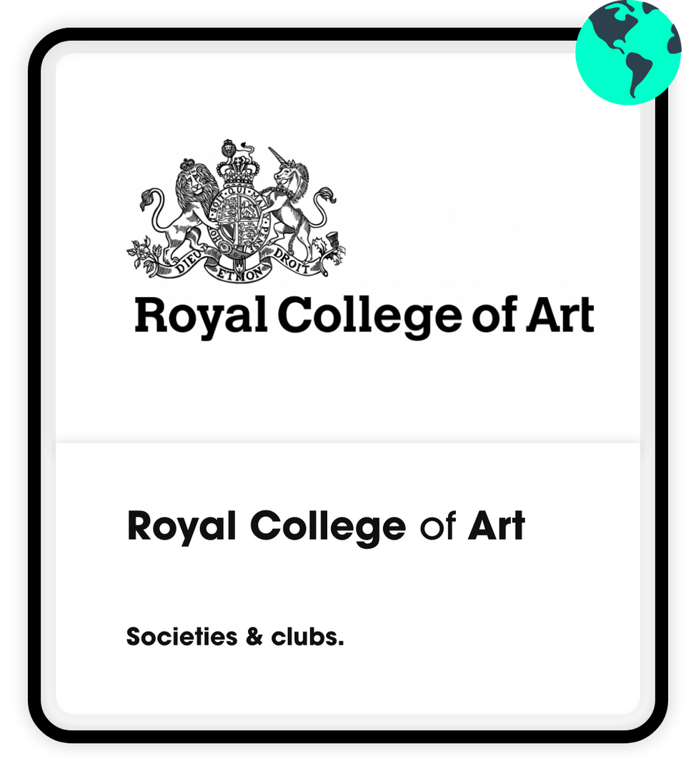 Royal college of art societies
