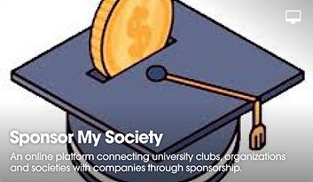 Sponsor My Society