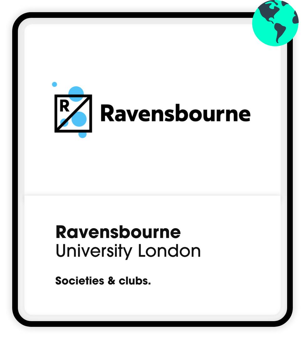 Ravensbourne Societies