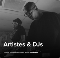 Artistes & Dj