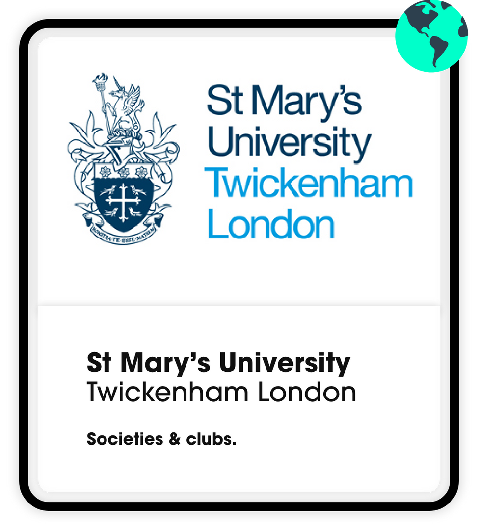 St mary's university societies