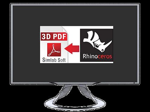 Rhino 3DM to PDF
