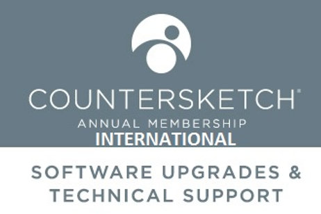 Countersketch International Support / pro Jahr