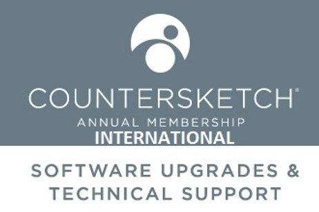 Countersketch International Support / pro Jahr
