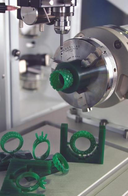 CNC CAM Wachsmodelle