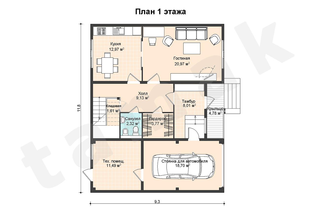Salzburg - Planul etajelor