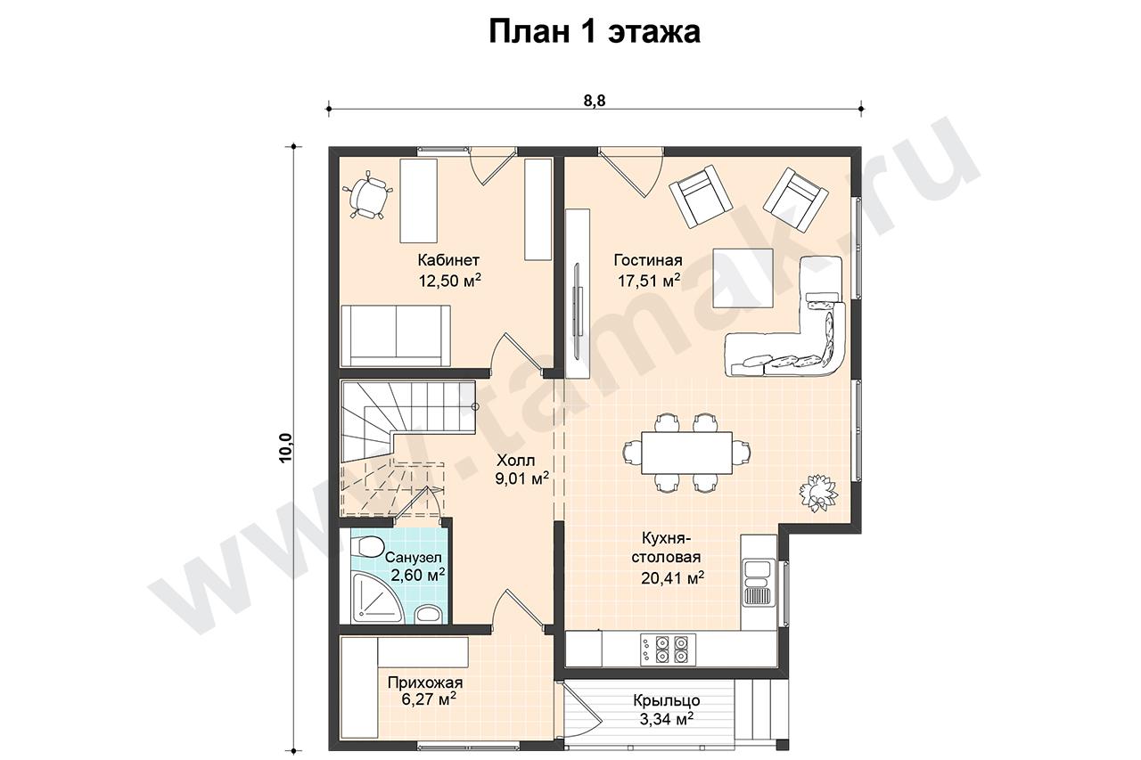 Karintia - Planul etajelor