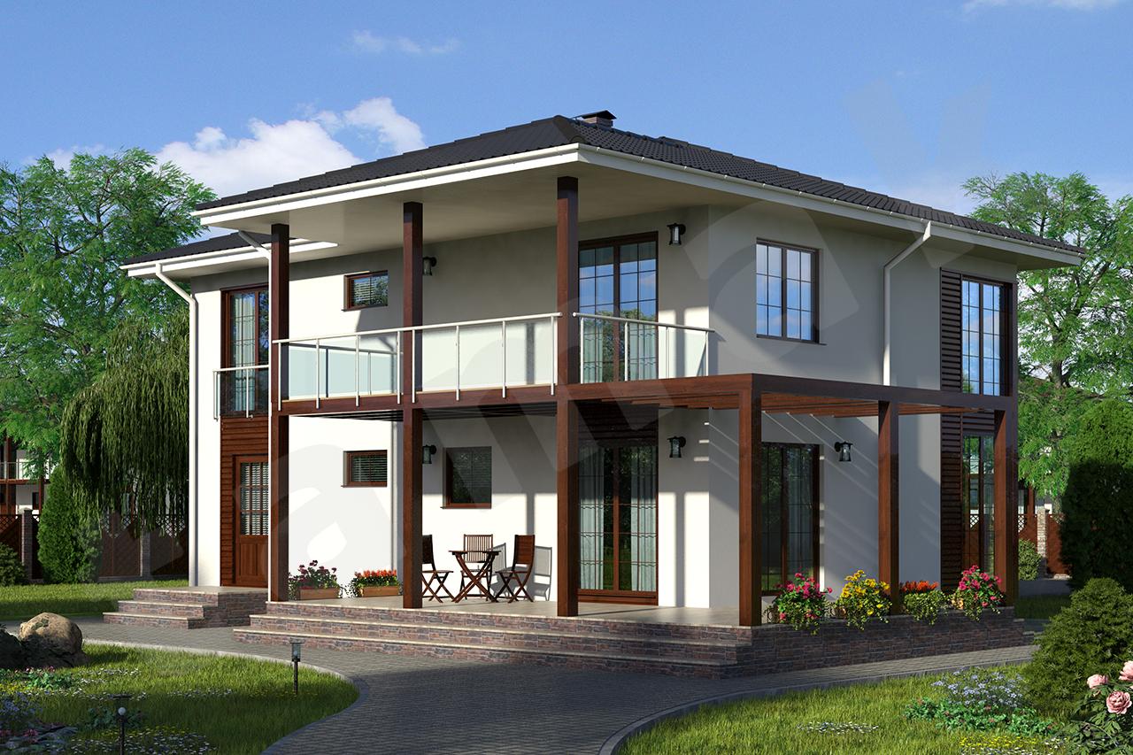 проекты двухэтажных домов загородных фото хупс этих фото