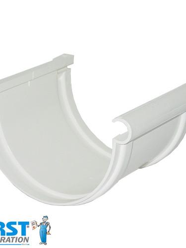 Соединитель Желоба First Plast 125 Alb
