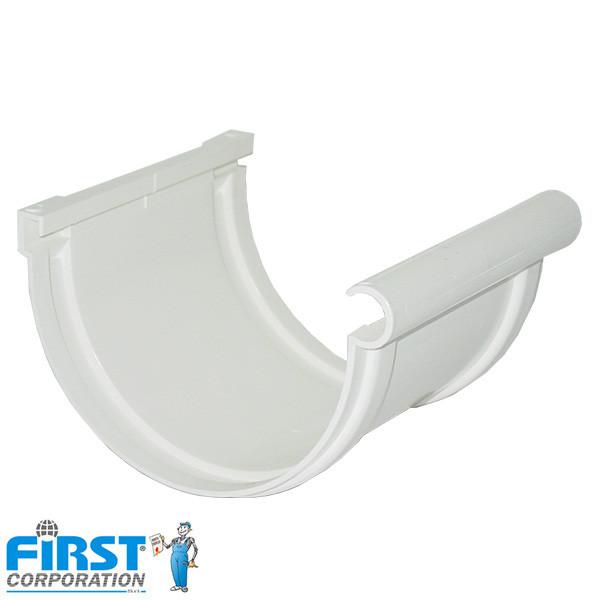 Piesa legatura First Plast 125 Alb