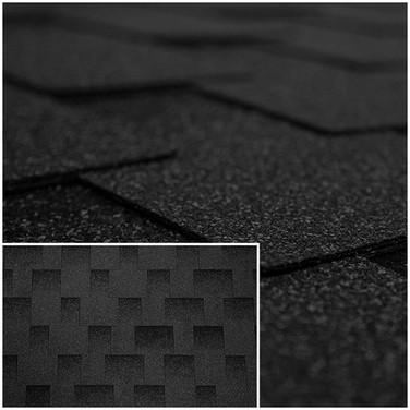 Битумный Гонт Kerabit L+ Темно-Серый