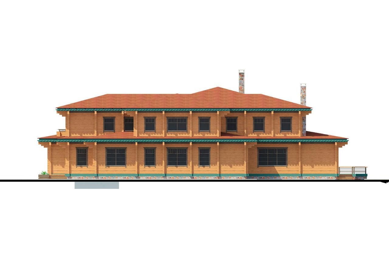 Casă 1063 m.p. - Fațade