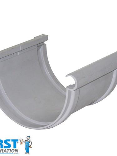 Соединитель Желоба First Plast 125 Серый