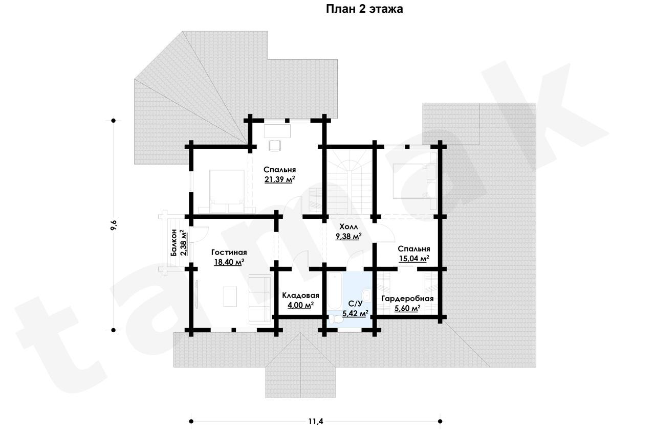 Casă 234 m.p. - Planul etajelor