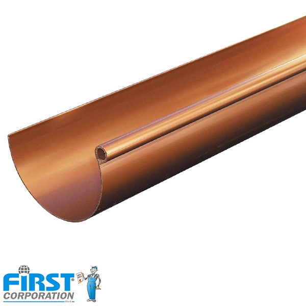 Jgheab First Plast 125 Cupru
