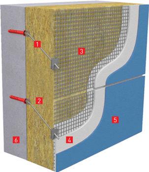 FrontRock Max E - минвата для фасадов и систем фасадной теплоизоляции