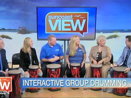 Suncoast View: Feelin' the Beat with Positive RePercussions!