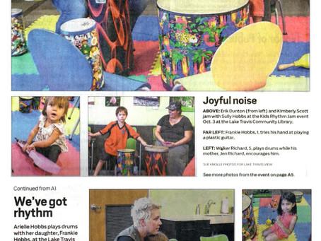 Lake Travis View: Rhythm & ME™ at Lake Travis Community Library