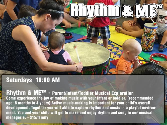 Rhythm & ME™ - Saturdays 10:00 AM