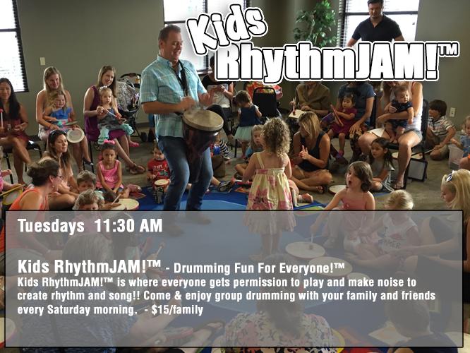 Kids RhythmJAM! - Tuesdays 11:30 AM