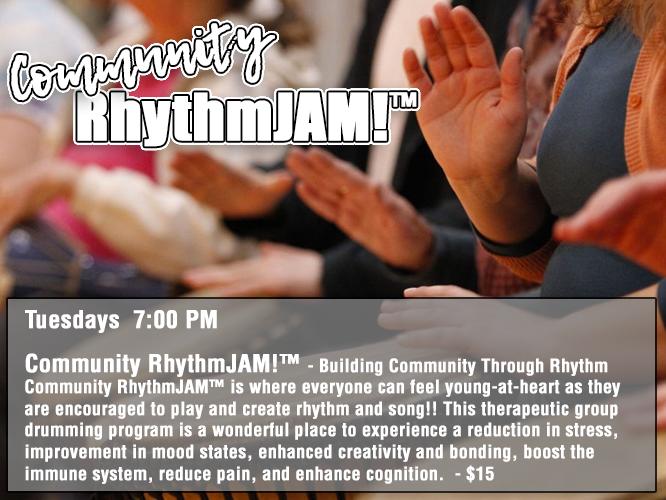 Community RhythmJAM! - Tuesdays 7:00