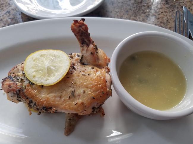 Lemon-Rosemary Half Chicken