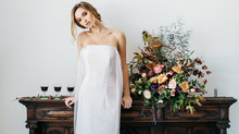 Cape Dress Wedding Inspiration Shoot